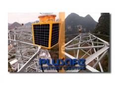 Towers and Cranes Solar Air Obstacle Light Applications
