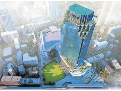 Commercial Towers Rooftop Elevated  Helipads In Thailand