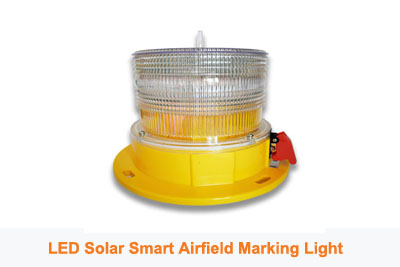 Smart Solar Airfield Marking Light