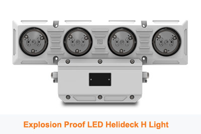 Helideck H Identification Light